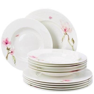 Dinner set 12 pcs. Jade Magnolie