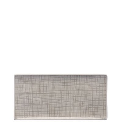 Platte 26 x 13 cm flach Mesh Colours Mountain