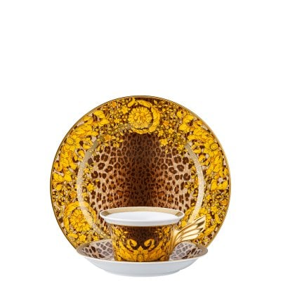 Set plate + cup & saucer / 25 years Versace Wild Floralia