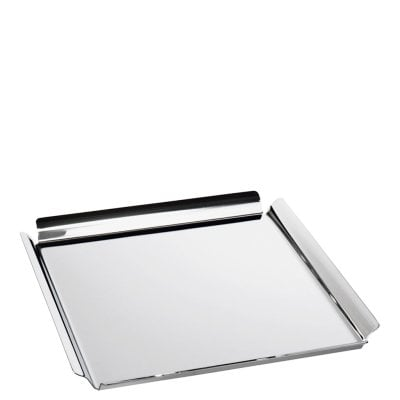 Square tray cm 25x25 Sky Stainless steel 18/10