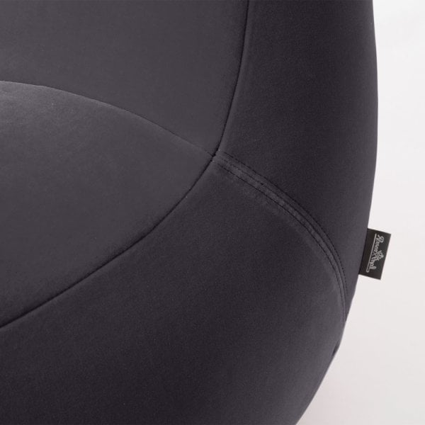 Armchair SCOOP Asphalt Grey Fabric