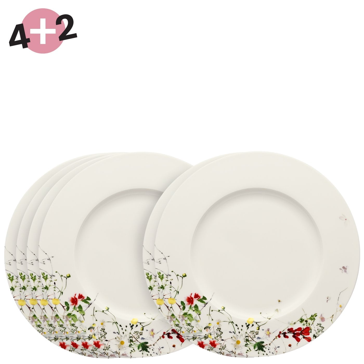 Set of 4 Floral Meadow Drinks Coasters