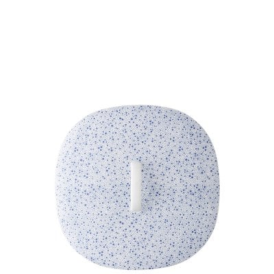 Covered vegetable bowl Moon Cipango Blue