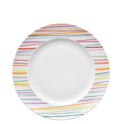 Assiette plate 27 cm Sunny Day Sunny Stripes