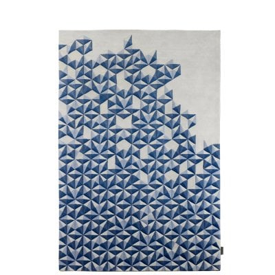 Hand-Tufted Carpet 2x3m Hue Pastel Blue