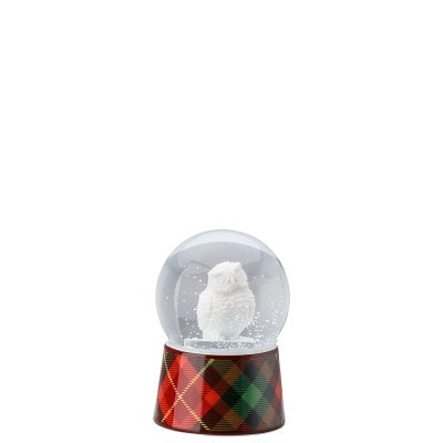 Glass sphere w. snow effect Cozy Winter Kauz