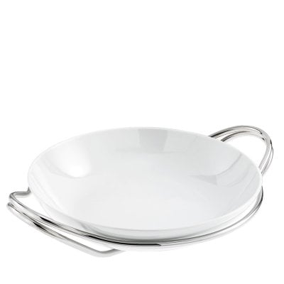 Round risotto dish cm 36 Living Metall/Porzellan
