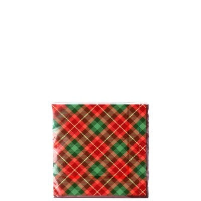 Napkins 33x33/20 Cozy Winter Tartan
