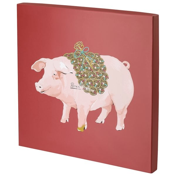 Platzteller 30 cm Zodiac 2019 Year of the pig