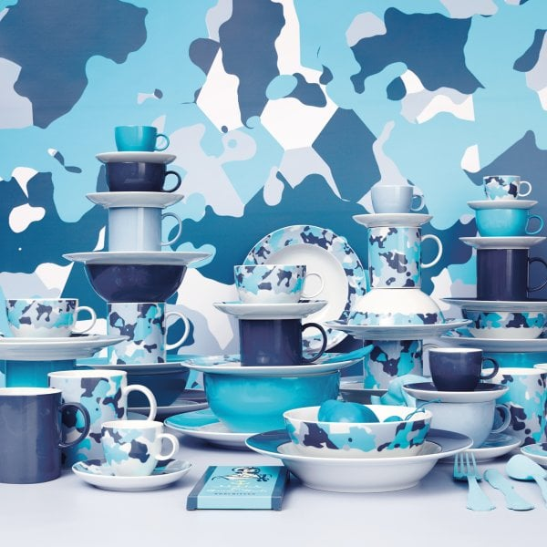 Cup cappuccino Sunny Day Nordic Blue