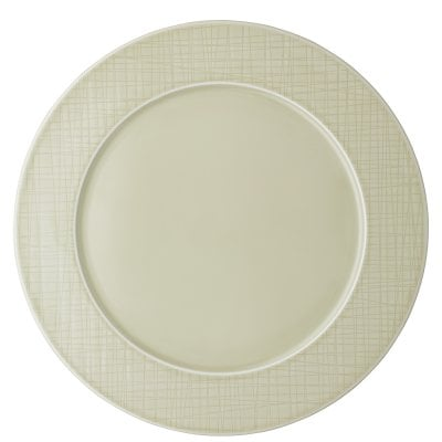 Rim plate 32 cm Mesh Colours Cream