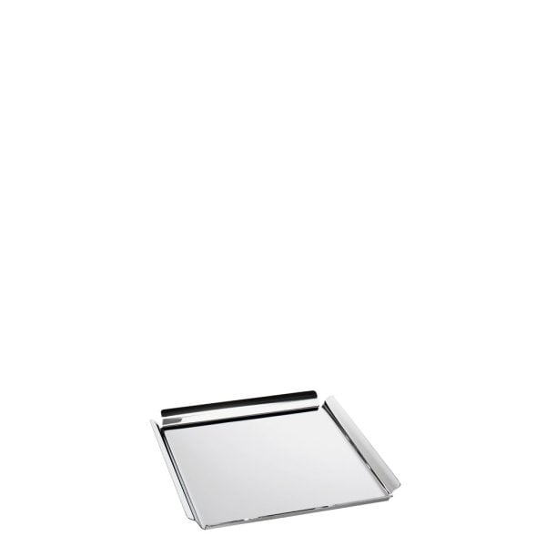 Square tray 14 x 14 cm Sky Stainless steel 18/10