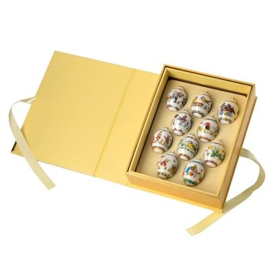 Display (Book) with 10 Mini-Eggs Minieier 2010-2019 Sonderedition