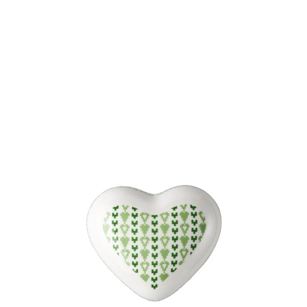 Dose groß Lots of hearts Green