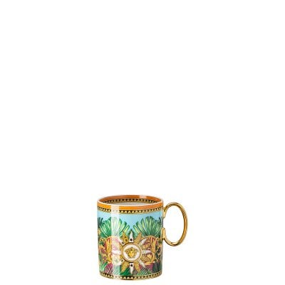 Becher mit Henkel Versace Jungle Animalier