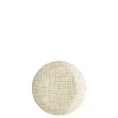 Piatto piano 15 cm Mesh Cream