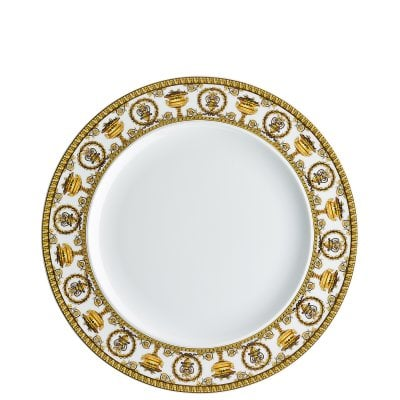 Plate 27 cm Versace Baroque Bianco