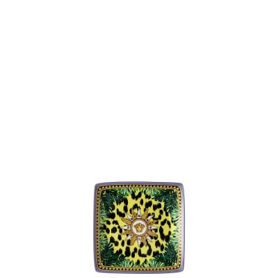 Bowl 12 cm square flat Versace Jungle Animalier