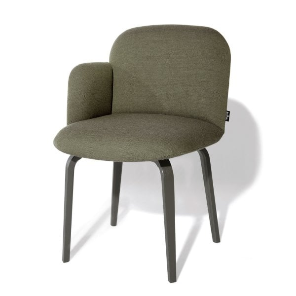 Chair armrest right BOLBO Moss Green Fabric