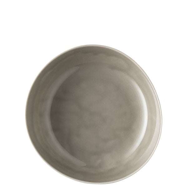 Plate deep 25 cm (Relief only backside) Junto Pearl Grey