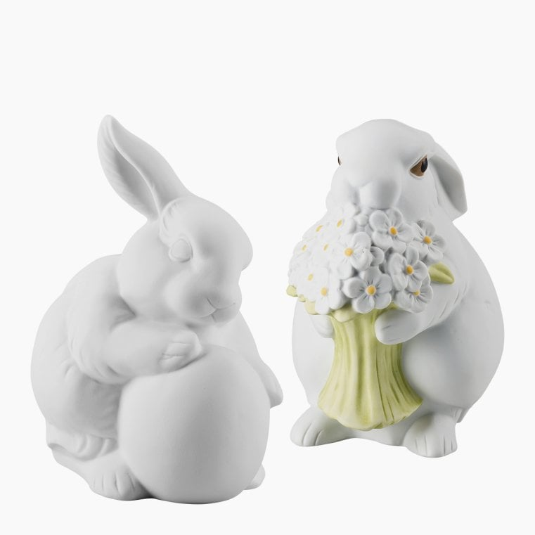 Porcelain bunnies