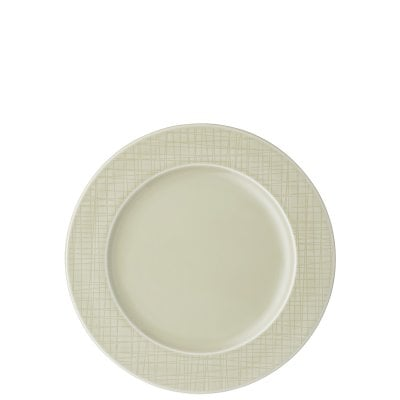 Rim plate 23 cm Mesh Colours Cream