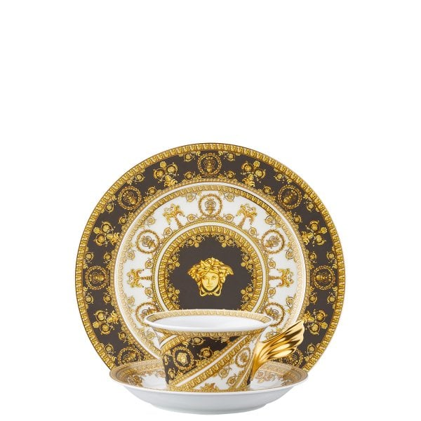 Set plate + cup & saucer / 25 years Versace I Love Baroque
