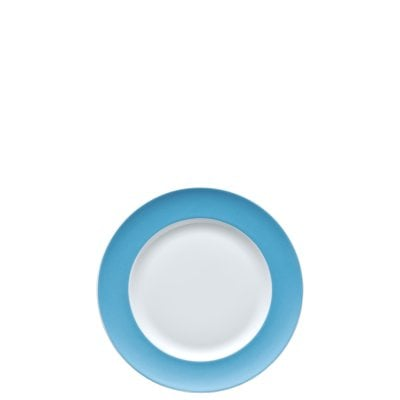 Assiette plate 18 cm Sunny Day Waterblue