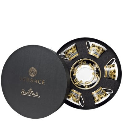 Set with 6 tea c/s Versace Prestige Gala