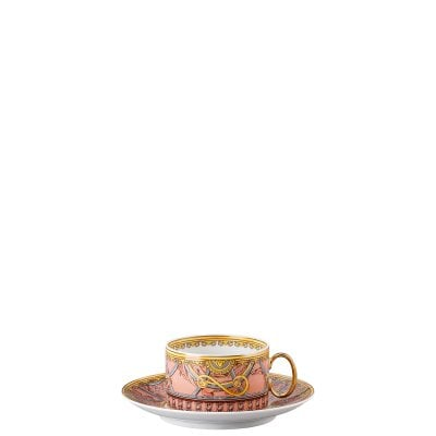 Cup & saucer 4 low Versace Scala Palazzo Rosa