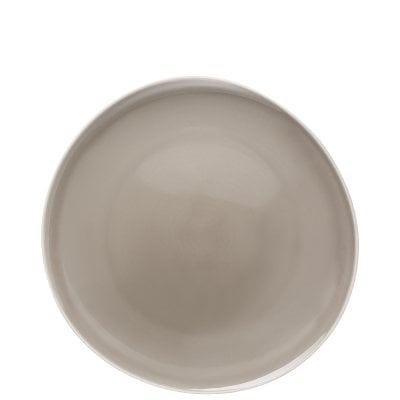 Plate 27 cm flat (Relief only out-/backside) Junto Pearl Grey
