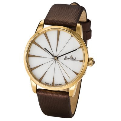 Wrist watch Lady Sunray gold-white-brown