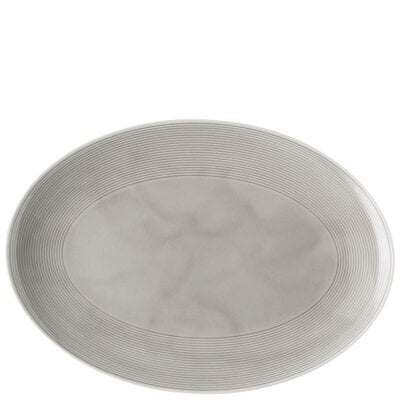 Platte 34 cm Loft by Rosenthal Colour - Moon Grey