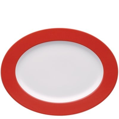 Platter 33 cm Sunny Day New Red