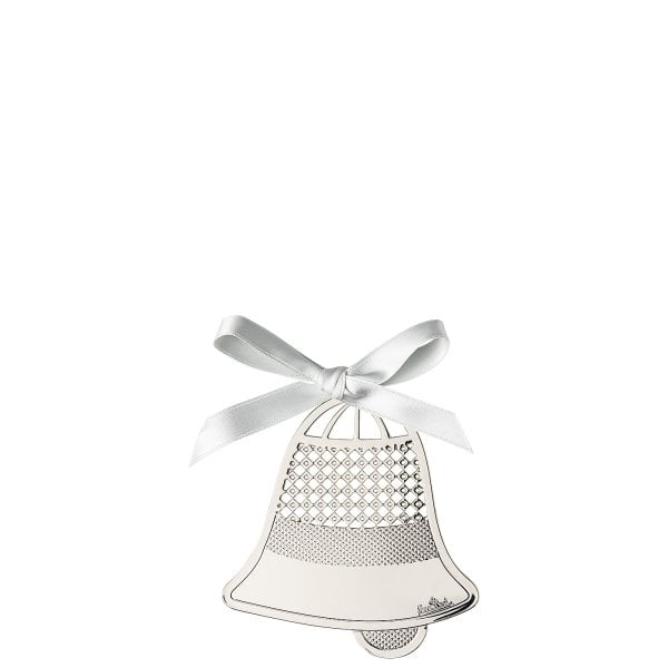 Pendant Bell 8 cm Silver Collection Christmas Silver