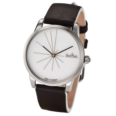 Wrist watch Lady Sunset silver-white-black