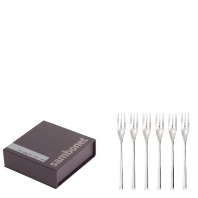 Set 6 pcs oyster/cake fork H-Art Stainless steel 18/10