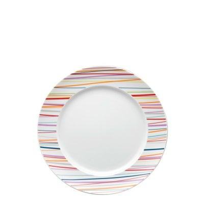 Assiette plate 22 cm Sunny Day Sunny Stripes