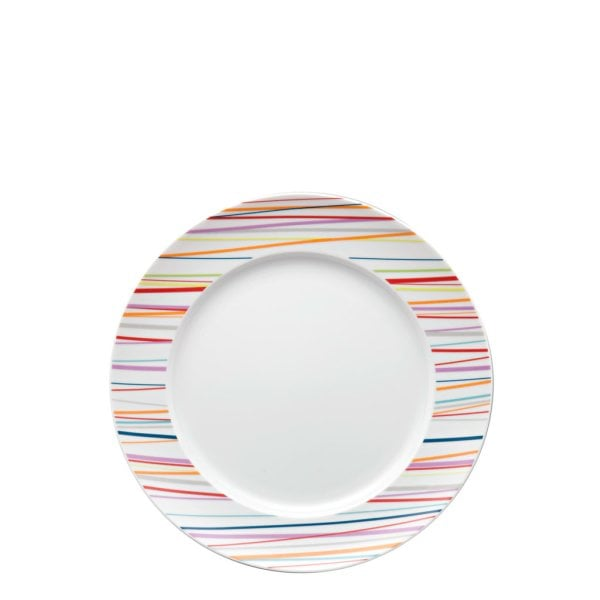 Plate 22 cm Sunny Day Sunny Stripes