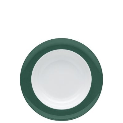 Assiette creuse 23 cm Sunny Day Herbal Green