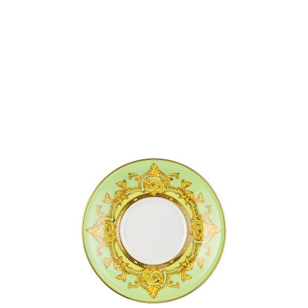 Set Teller + Tasse / 25 Years Versace Green Floralia