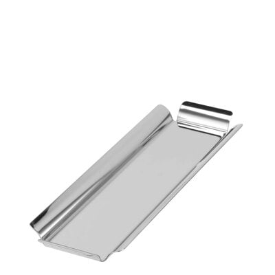 Rectangular tray 19 x 14 cm Sky Stainless steel 18/10