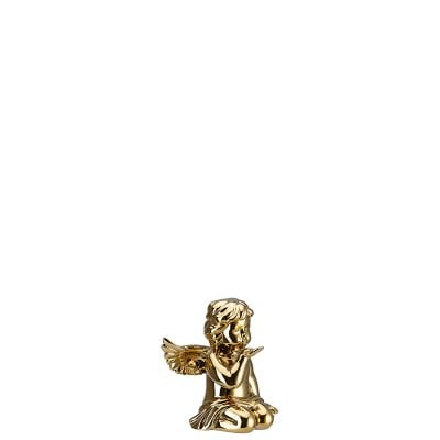 Angel kissing hand Angel middle Gold titanisiert