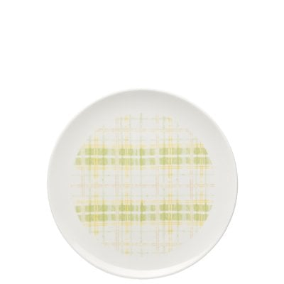 Plate 22 cm Lots of stripes Butter cup/Pears