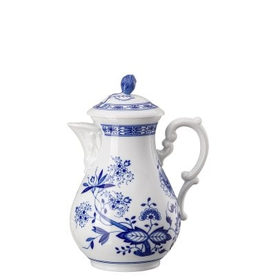 Coffee-pot 6 p. Blau Zwiebelmuster
