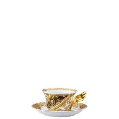 Set Teller + Tasse / 25 Years Versace I Love Baroque