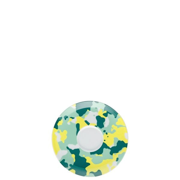 Saucer 4 low Sunny Day Camo Green