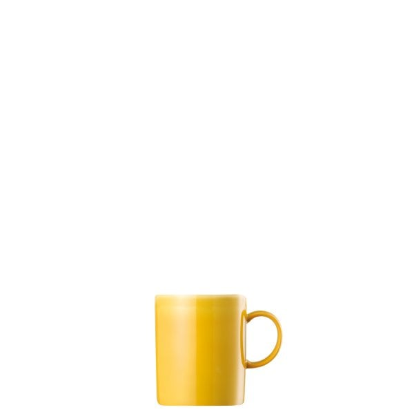 Mug with handle Sunny Day Yellow