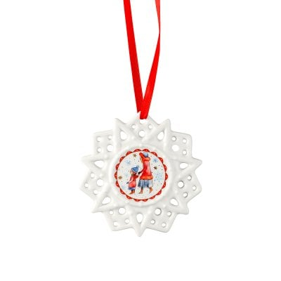 Star ornament Sammelkollektion 2018 Winterfreuden-Spaziergang
