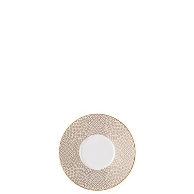 Saucer 4 tall Francis Carreau Beige